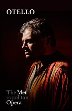 Metropolitan Opera: Otello,, NYC Show Poster