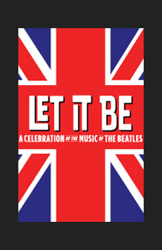 Let It Be, St. James Theatre, NYC Show Poster