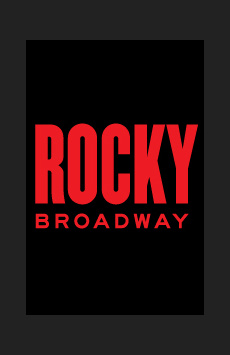 Rocky, Winter Garden Theatre, NYC Show Poster
