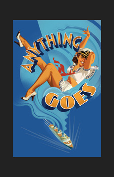 Anything Goes,, NYC Show Poster