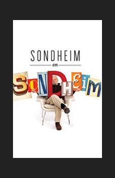 Sondheim on Sondheim,, NYC Show Poster