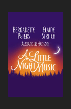 A Little Night Music, Walter Kerr Theatre, NYC Show Poster