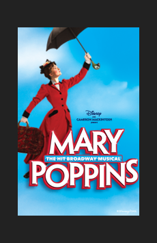 Mary Poppins, New Amsterdam Theatre, NYC Show Poster