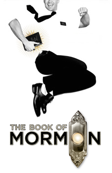 The Book of Mormon, Eugene O'Neill Theatre, NYC Show Poster