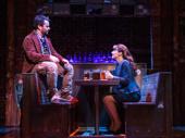 Alex Brightman as Dewey and Jenn Gambatese as Rosalie in School of Rock.