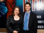 Theater couple Tom Kitt and Rita Pietropinto step out.