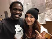 American Idiots reunite! Hamilton tour star Joshua Henry meets up with his former American Idiot co-star Alysha Umphress on tour.(Photo: Instagram.com/joshuahenrynyc)