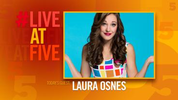 Broadway.com #LiveatFive with Laura Osnes