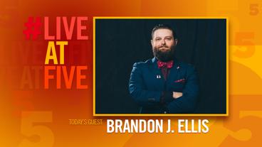 Broadway.com #LiveatFive with Brandon J. Ellis of <i>Bandstand</i>