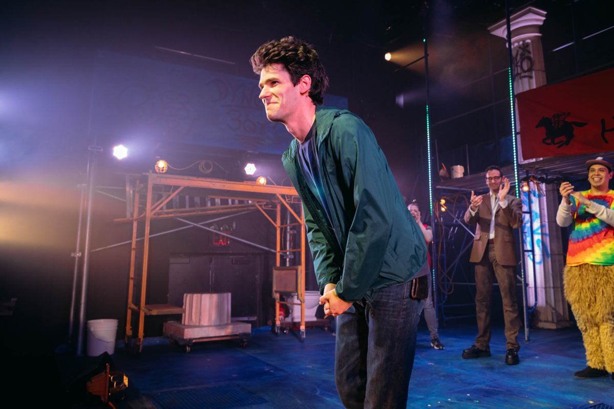 check out the opening night pics from the lightning thief