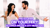 Go Behind the Lens with On Your Feet! Tour Stars Christie Prades and Mauricio Martinez
