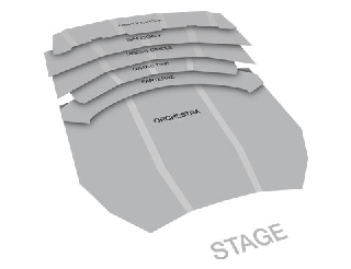 Seatmap for The Metropolitan Opera