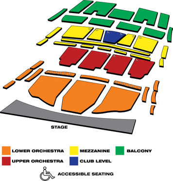 Seatmap for Broward Center