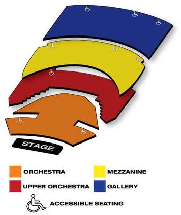 Seatmap for Sarofim Hall - The Hobby Center