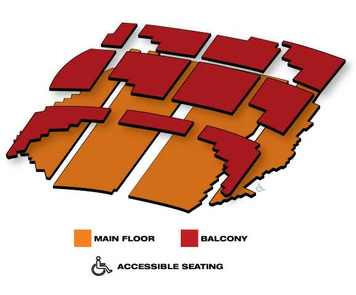 Seatmap for State Theatre