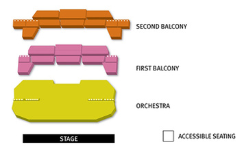 Seatmap for Bass Concert Hall