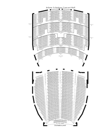 Arlene Schnitzer Concert Hall Theaters Broadway In Portland - Arlene schnitzer seating chart
