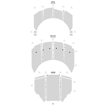 Seatmap for Emerson Colonial Theatre