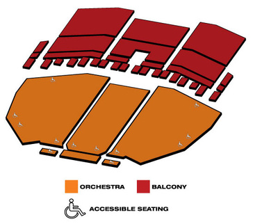 Seatmap for The Color Purple: The Musical