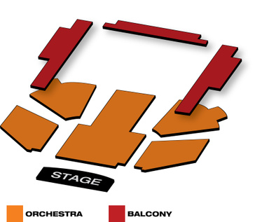 Seatmap for Kinky Boots