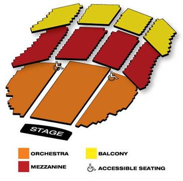 Seatmap for Flashdance