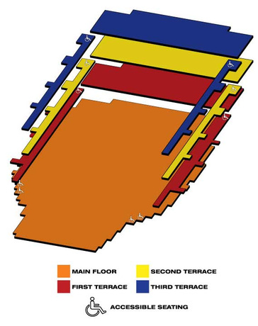 Seatmap for West Side Story