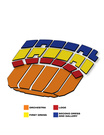 Seatmap for Matilda The Musical