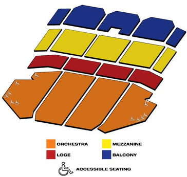 Seatmap for Dirty Dancing