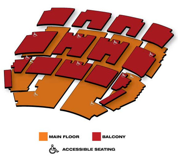 Seatmap for Disney's Aladdin