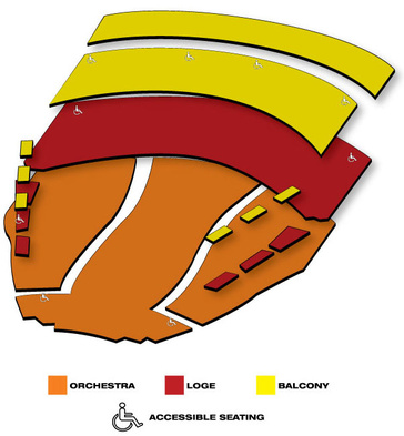 Seatmap for The King and I