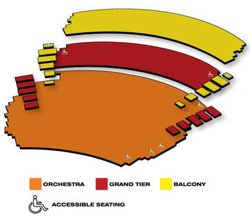 Seatmap for Les Miserables
