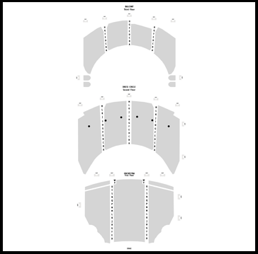 Seatmap for The Play That Goes Wrong