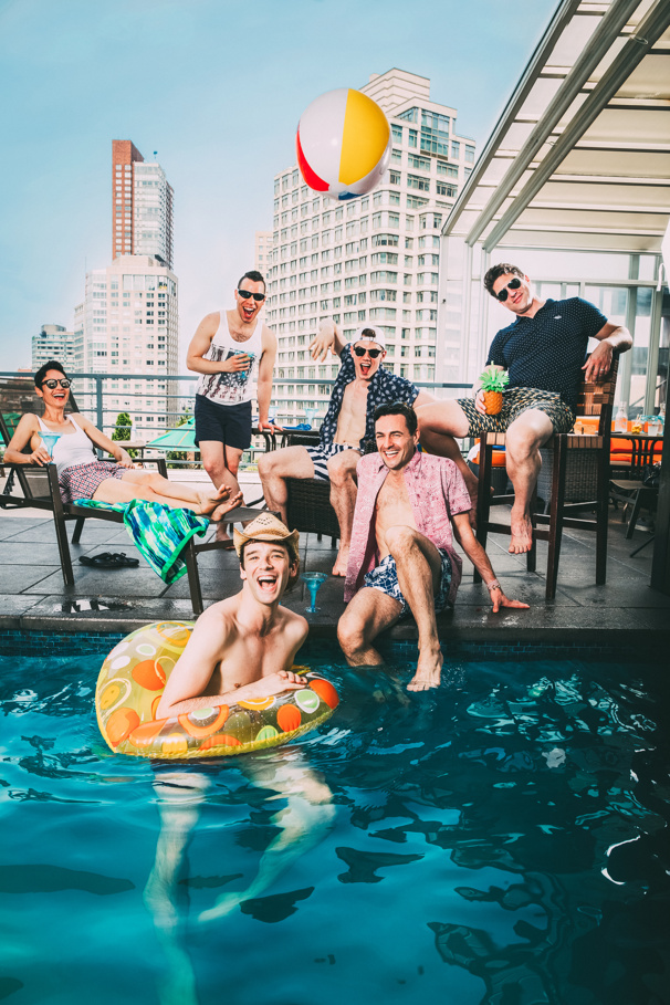 LGBT Pride Pool Party! Get Wet and Wild with Six Out Stage Stars