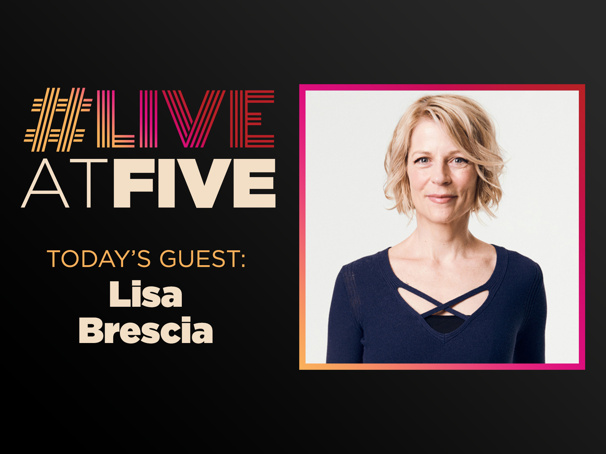 Broadway.com #LiveatFive with Lisa Brescia of Dear Evan Hansen
