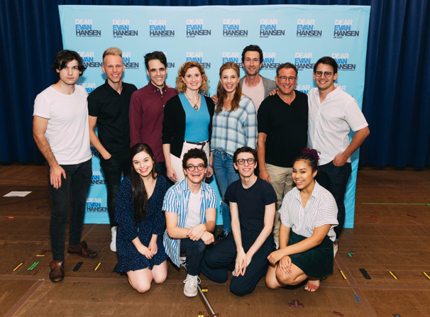 See Justin Paul, Benj Pasek & the Cast of Dear Evan Hansen's National Tour Before They Hit the Road