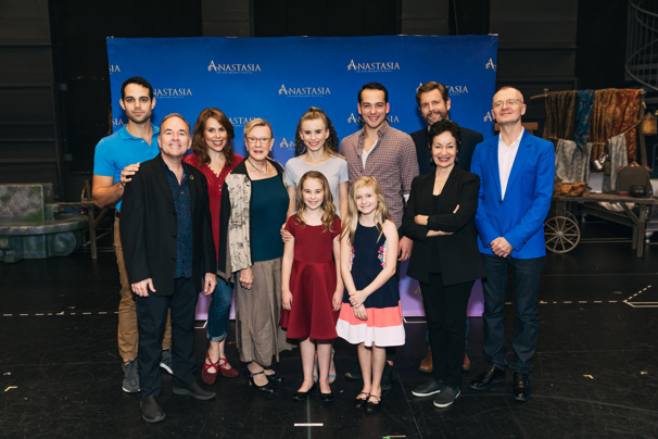 See Lynn Ahrens, Stephen Flaherty, Lila Coogan & the Cast of the Anastasia Tour Prep to Hit the Road