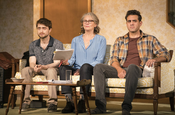 See Daniel Radcliffe, Bobby Cannavale & Cherry Jones in New Lifespan of a Fact Production Shots