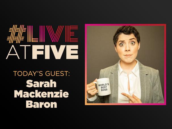Broadway.com #LiveatFive with Sarah Mackenzie Baron of The Office! A Musical Parody