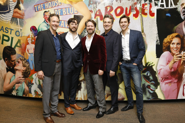 The Stars of Tom Stoppard's The Hard Problem Celebrate Their Off-Broadway Opening