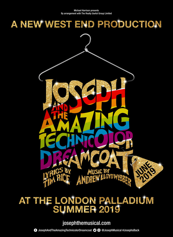 Joseph and the Amazing Technicolor Dreamcoat Will Return to London in 2019