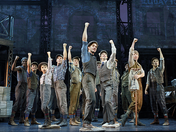 Seize the Day! National Tour of Disney's Newsies Opens in Appleton