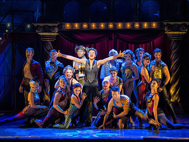 We've Got Magic to Do! Tony Award-Winning Pippin Opens in Boston