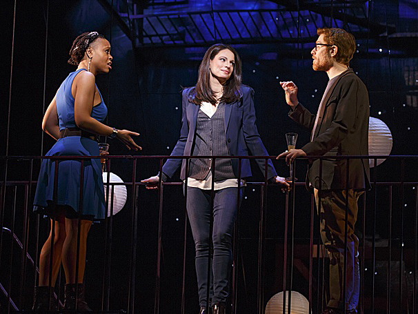 Here She Goes! National Tour of If/Then Opens in Cincinnati