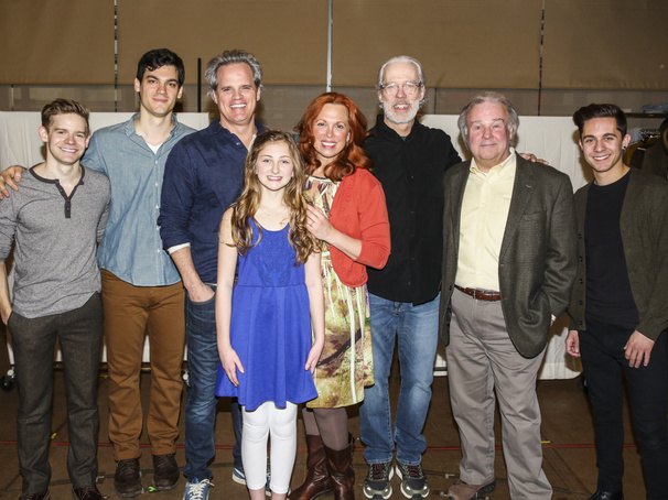 Meet the Family! Broadway's Tuck Everlasting Stars Greet the Press