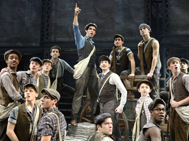 Seize the Day! National Tour of Disney's Newsies Opens in Portland