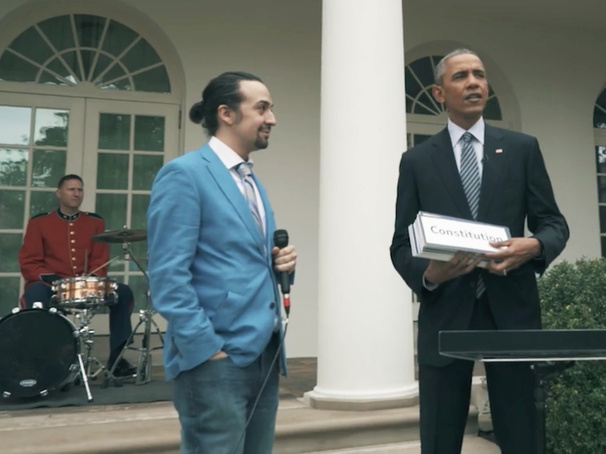 bam4ham check out lin manuel miranda the hamilton cast 39 s white house visit broadway buzz. Black Bedroom Furniture Sets. Home Design Ideas