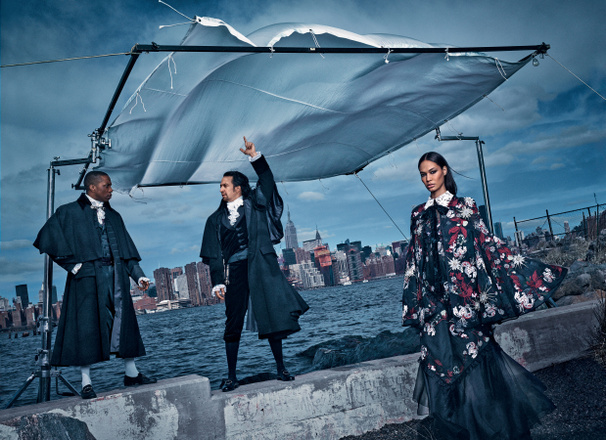 Strike a Pose! Hamilton Stars, Tony Host James Corden & More Get the Vogue Treatment