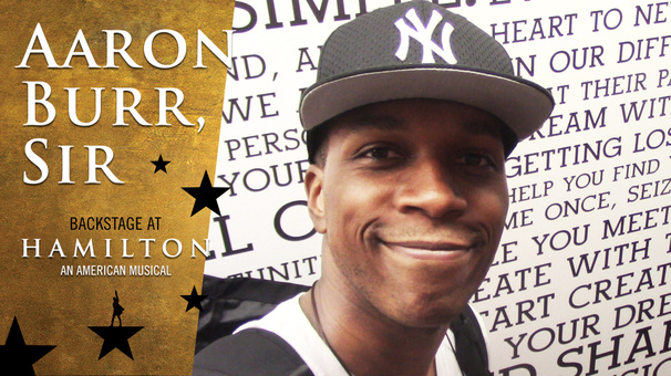 Aaron Burr, Sir: Backstage at Hamilton with Leslie Odom Jr., Episode 3: You Should See You