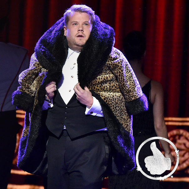 Thumbs Up! Tony Host James Corden Made Broadway's Biggest Night a Fun, Farcical & Fantastic Affair