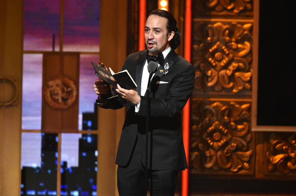 Let's Get This Guy in Front of a Crowd! Fans Loved Lin-Manuel Miranda's Tremendously Moving Speech